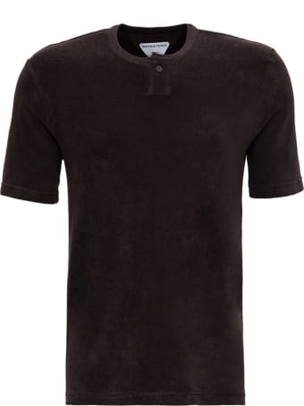 Bottega Veneta Brown Terry Cloth T-shirt