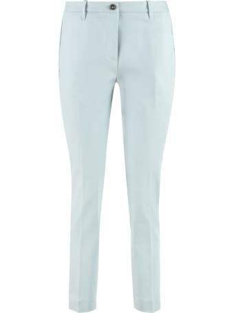 Nine in the Morning Breezy Stretch Cotton Chino Trousers
