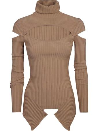 Andrea Adamo Turtleneck Longsleeve Sweater
