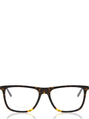 Gucci Gucci Gg0691o Dark Havana Glasses
