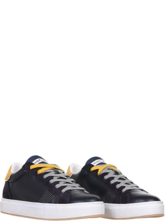 Crime london Sneaker In Blue Leather