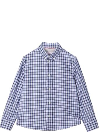 Brunello Cucinelli Teen Checked Shirt