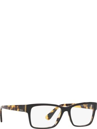 Prada Prada Pr 15vv Top Black / Medium Havana Glasses