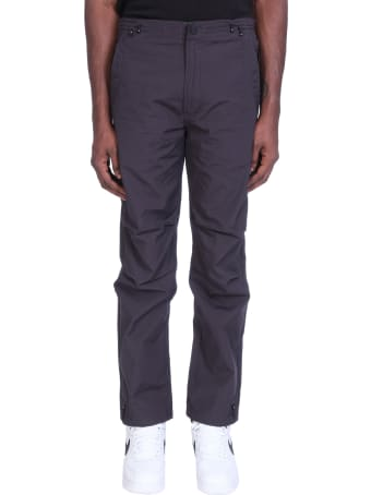 Maharishi Pants In Black Cotton