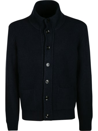 Tom Ford High-neck Buttoned Knit Sweater