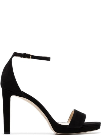 Jimmy Choo Misty Sandals In Suede Leather