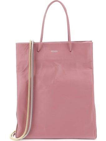 Medea Medea Busted Tall Leather Tote