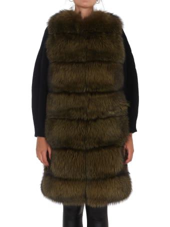 IDA LOU Fur Gilet