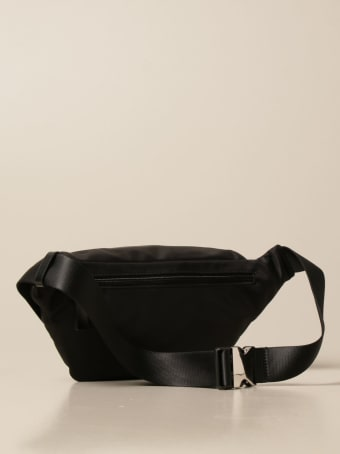 Dsquared2 Belt Bag Icon Dsquared2 Belt Bag In Technical Canvas With Logo