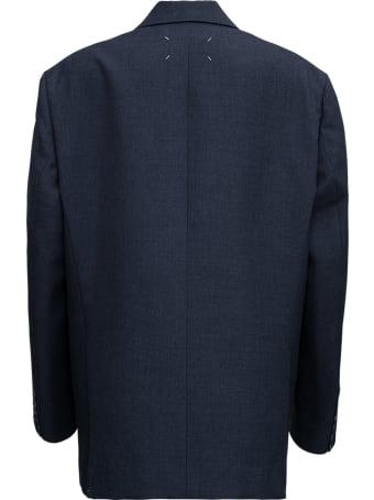 Maison Margiela Single-breasted Jacket In Grey Wool Blend