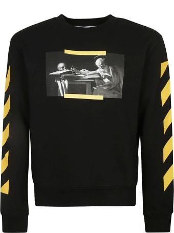 Off-White Carav Painting Slim Sweatshirt