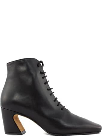 Roberto Festa Aterno Ankle Boot In Black Leather