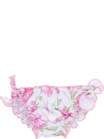 Monnalisa Floral One-piece Swimsuit