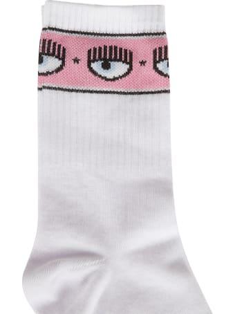 Chiara Ferragni Maxi Logomania Socks