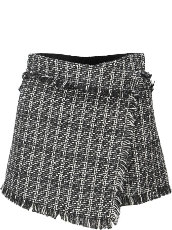MSGM Tweed Shorts