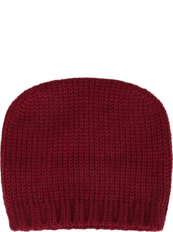 La stupenderia Bordeaux Hat For Baby Kids With Star