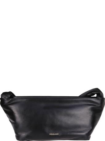 Frenzlauer Black Leather Bateau Bag