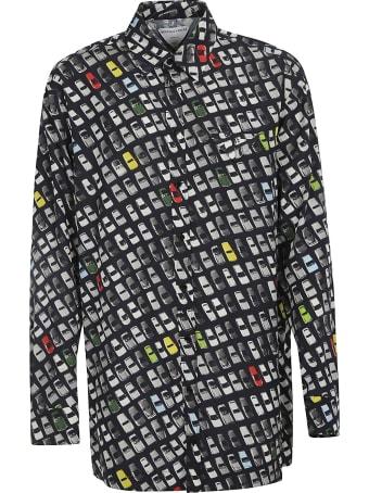 Bottega Veneta Photographic Car Print Shirt