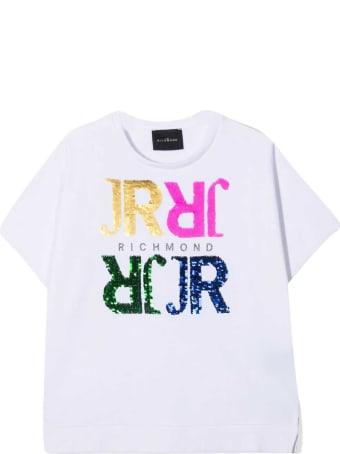 Richmond John Kids White T-shirt