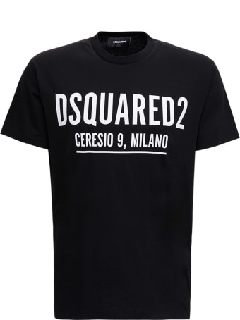 Dsquared2 Cotton T-shirt With Logo Print