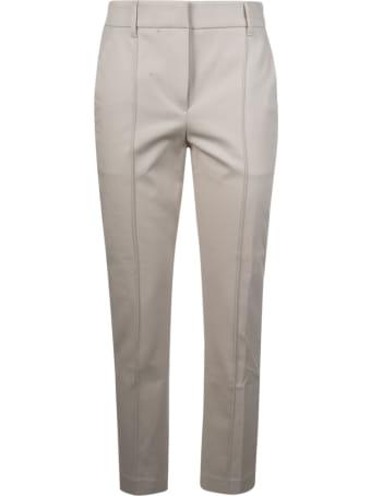 Brunello Cucinelli Straight Leg Cropped Trousers
