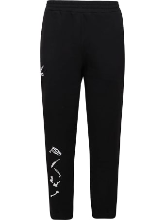 Australian Sweatpants With Bones Luminol Print