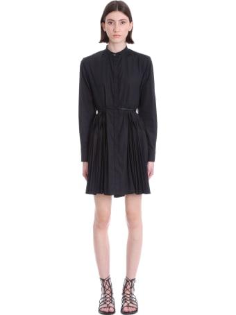Giovanni Bedin Dress In Black Cotton