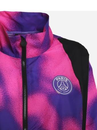 Jordan Jordan X Paris Saint-germain Jacket With Logo Patch