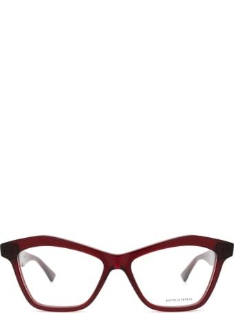 Bottega Veneta Bottega Veneta Bv1096o Red Glasses