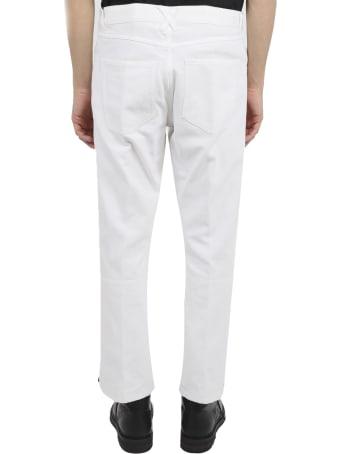 Ann Demeulemeester White Trousers