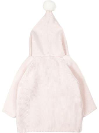 Little Bear Pink Virgin Wool Coat