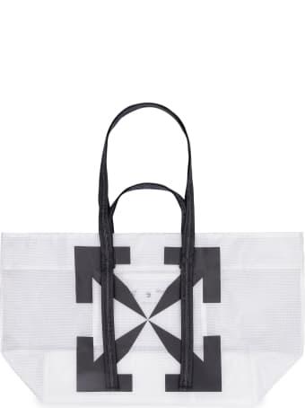 Off-White Logo Detail Tote Bag