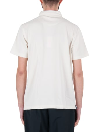 Sun 68 Polo Cold Dye Shirt Collar El.