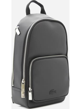 Lacoste Shoulder Bag With Tone-on-tone Logo Detail