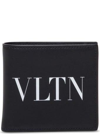 Valentino Garavani Bifold Leather Wallet With Logo