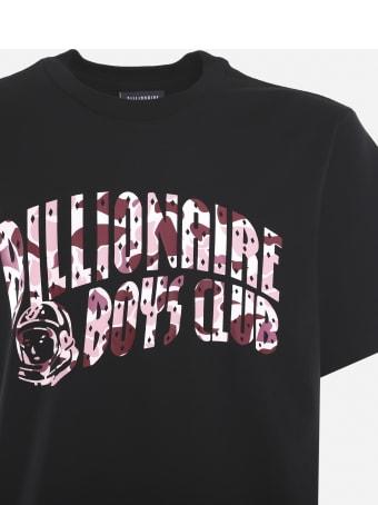 Billionaire Boys Club Cotton T-shirt With Camouflage Logo Print