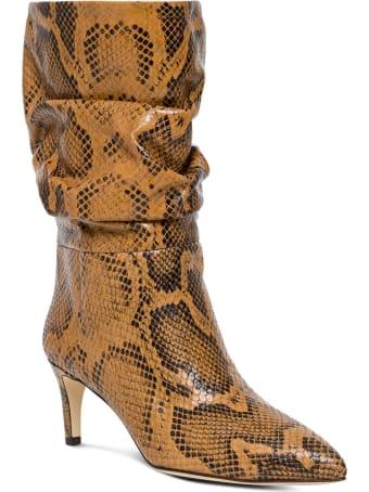 Paris Texas Python Leather Boots