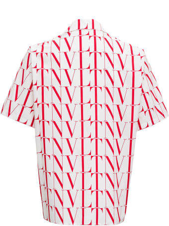 Valentino Vltn Cotton Poplin Shirt