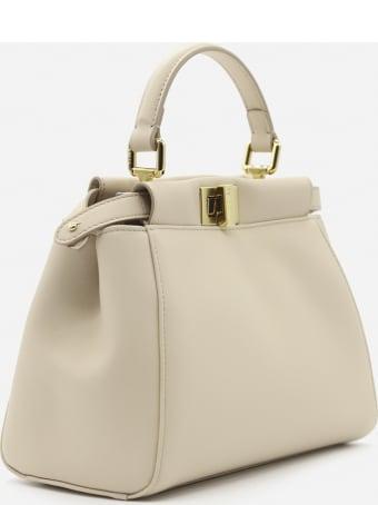Fendi Iconic Mini Peekaboo Bag In Leather