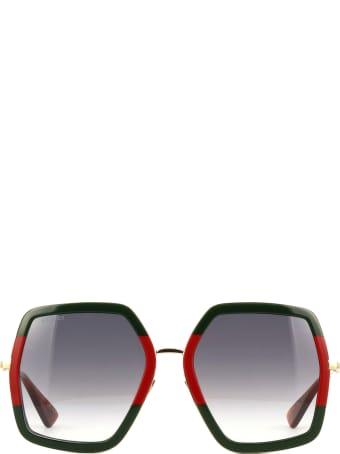 Gucci Gucci Gg0106s Gold Sunglasses