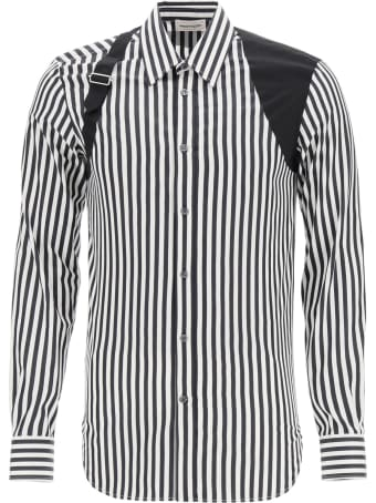 Alexander McQueen Striped Shirt With Harness