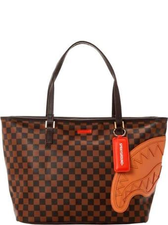 Sprayground Henny Checkered Mini Tote Bag