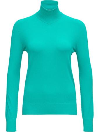 Bottega Veneta Light Blue Long Sleeves T Shirt In Viscose Blend
