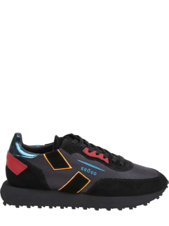 GHOUD Rush Sneakers In Fabric And Suede