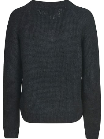 Prada V-neck Woven Sweater