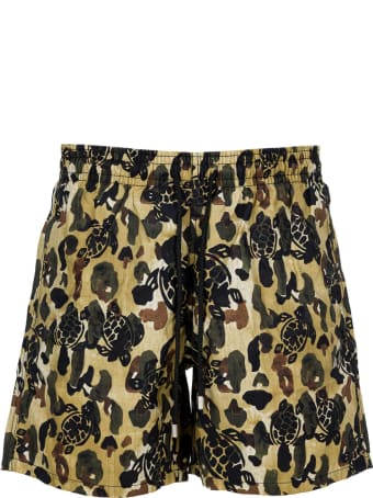 Palm Angels Camo Shorts
