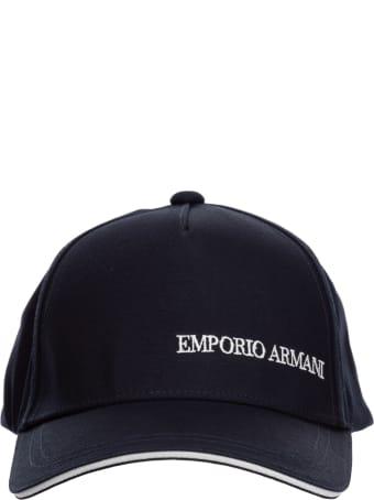 Emporio Armani Hourglass Baseball Cap