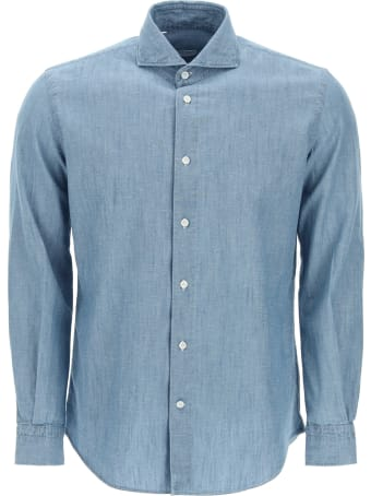Vincenzo Di Ruggiero Cotton And Linen Shirt