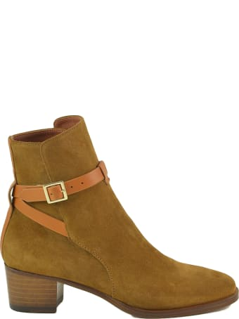 L'Autre Chose Women's Leather Booties