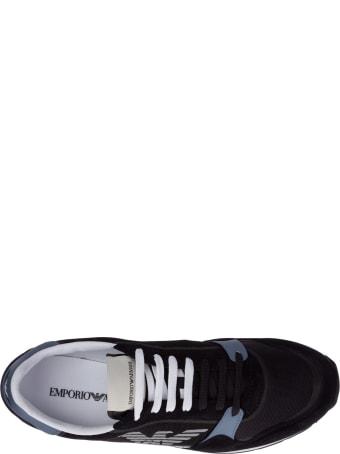 Emporio Armani Miami Logo Sneakers
